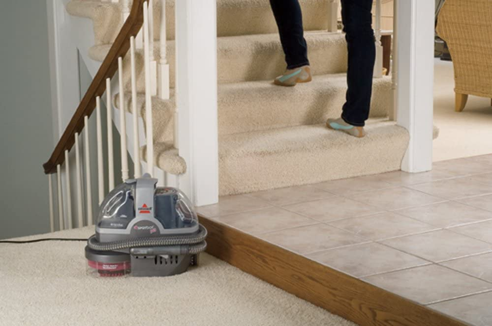 Portable carpet cleaner bissell