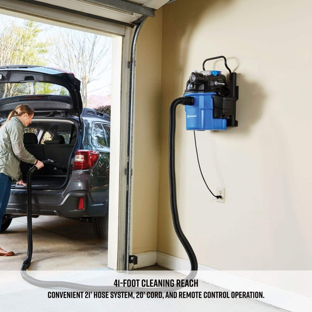 wall mounted garage vac Cover image