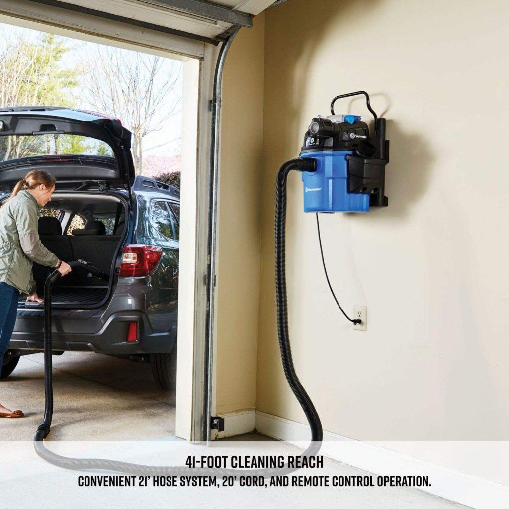 wall mounted garage vac Cover image