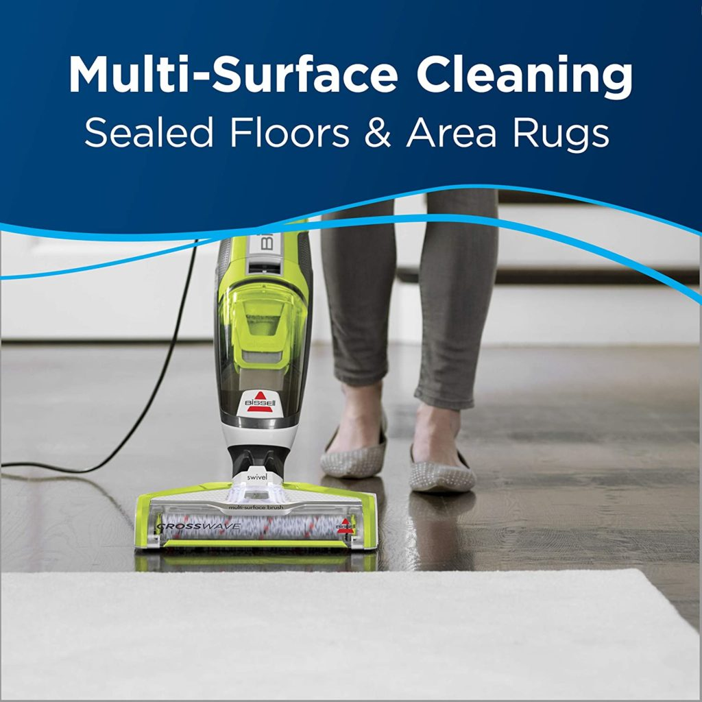 Bissell crosswave wet dry vac and mop combo