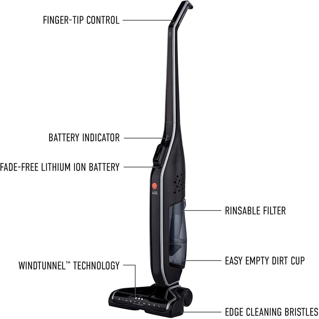 Hoover Linx Signature Stick Cordless Vacuum Cleaner Manual