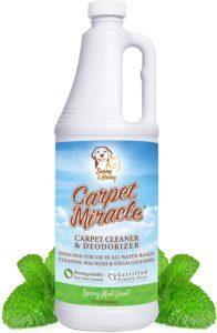 nature's miracle carpet shampoo