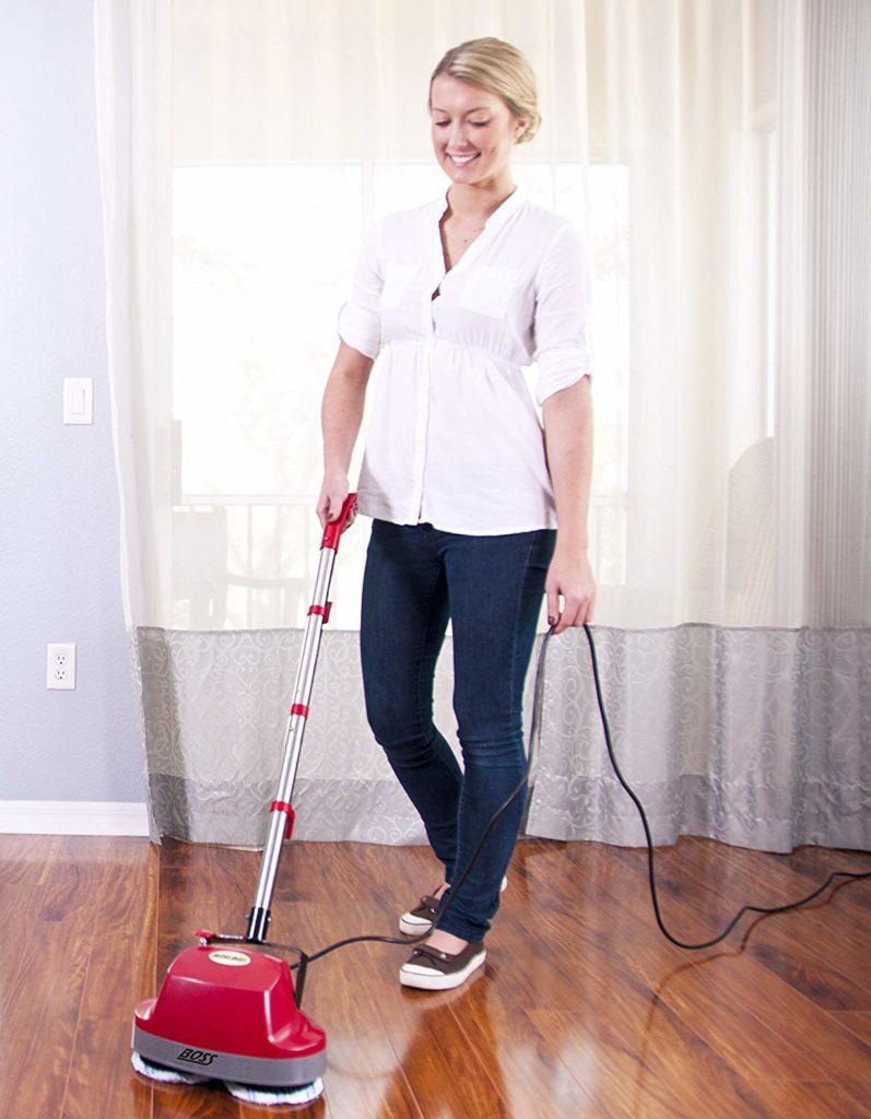 scrubber floor