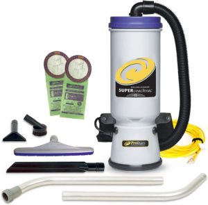 backpack vacuum proteam
