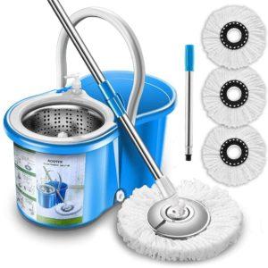 Spin Mop & Bucket Floor Mopping System
