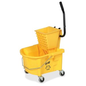 mopping buckets with wheels