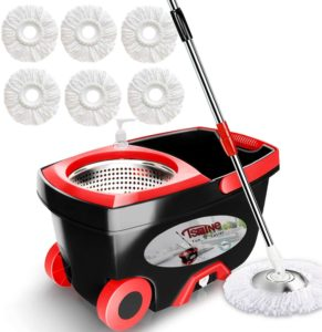 mopping spin bucket