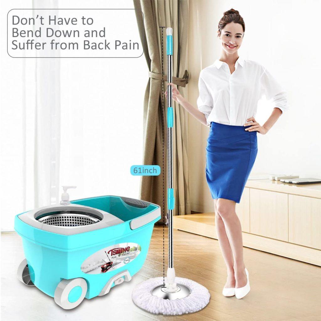 Mop Bucket on Wheels