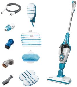 steam mop with cleaner
